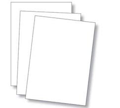 Carte forte blanche