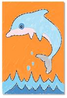 Colorier le dauphin