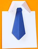 Coller la cravate