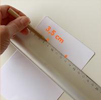 Marquer à 3,5 cm