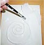 Coller plusieurs couches de serviette en papier