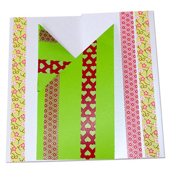 Carte en origami facile