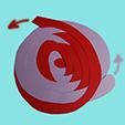 entremêler les spirales