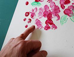 Peindre au doigt