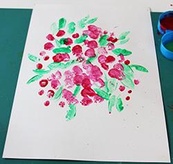 Peindre au tampon