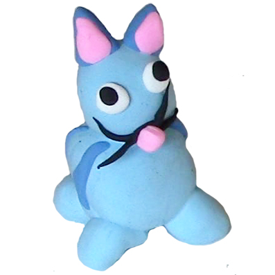 Modelage chat bleu