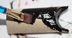 Peindre le rouleau
