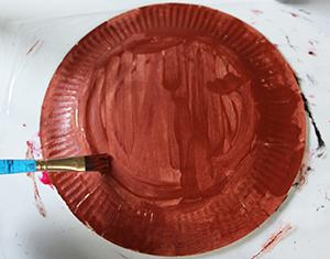 Peindre l'assiette