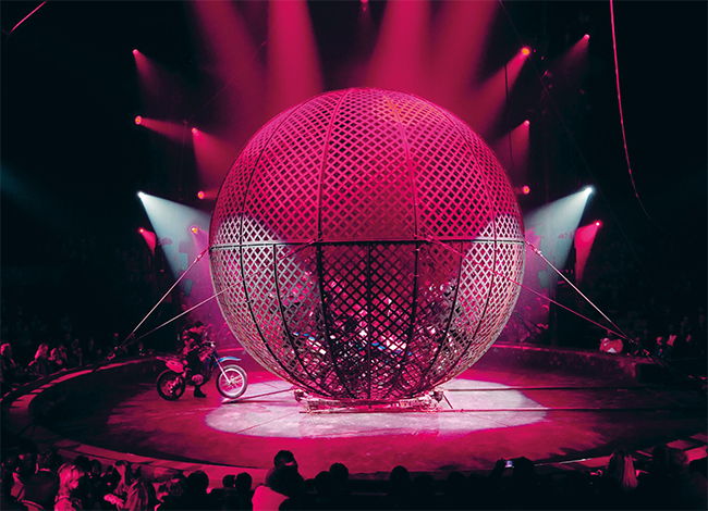 Numéro de cirque