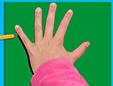 Dessiner les contours de la main