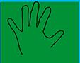 Dessiner le contour de la main