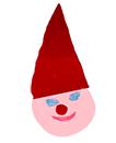 Coller le bonnet du Père Noël