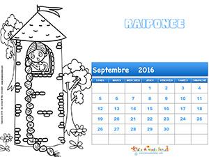 Imprimer le calendrier 2016
