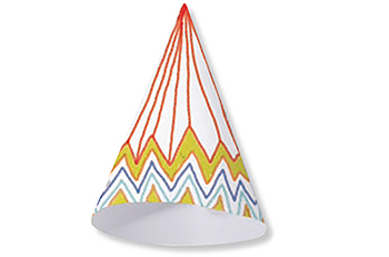 Rouler et former le cône