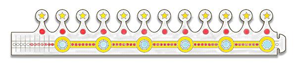 Coloriage couronne reine