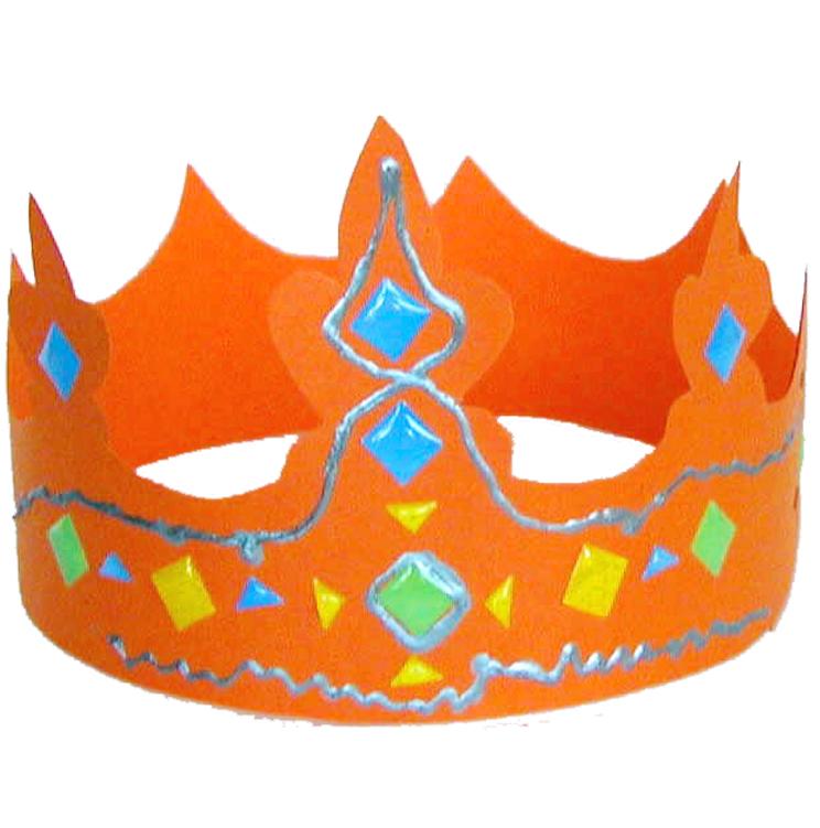 Fabriquer une couronne royale