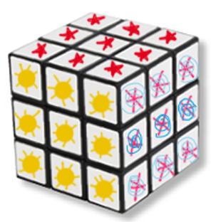 Laisser sécher le cube de Rubik