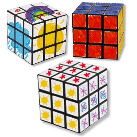 Fabriquer un cube de Rubik, un cube magique