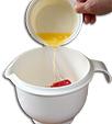 Ajouter le beurre fondu