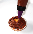 Recouvrir les cupcakes