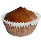 Cupcake au chocolat du petit déjeuner
