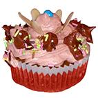 Cupcake miel amandes