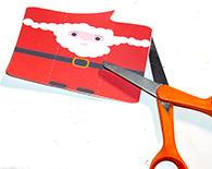 Découper le Père Noël
