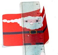Plier la décoration Père Noël