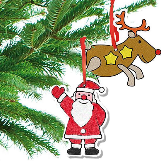 Décorations de Noël à sabler