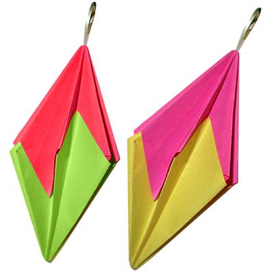 Décoration de Noël en origami