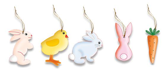 Décorations de Pâques à imprimer