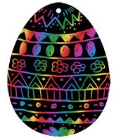 Décoration d'un oeuf de Pâques