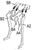 Plan assemblage pattes arrières