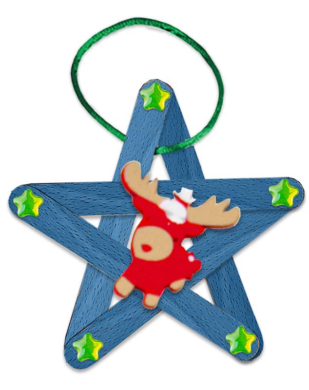 Etoile de Noël renne