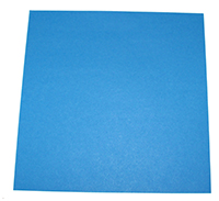 Poser la feuille origami