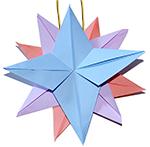 Coller le fil à l'étoile