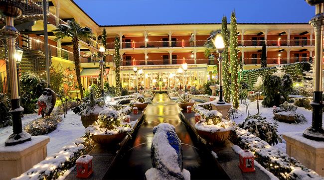 Un hotel féérique