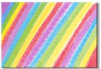 Colorier la carte avec les pastels