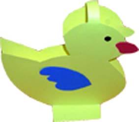 Canard pour pèche à la ligne