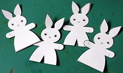 Découper les lapins