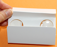 Ouvrir les plis des jumelles