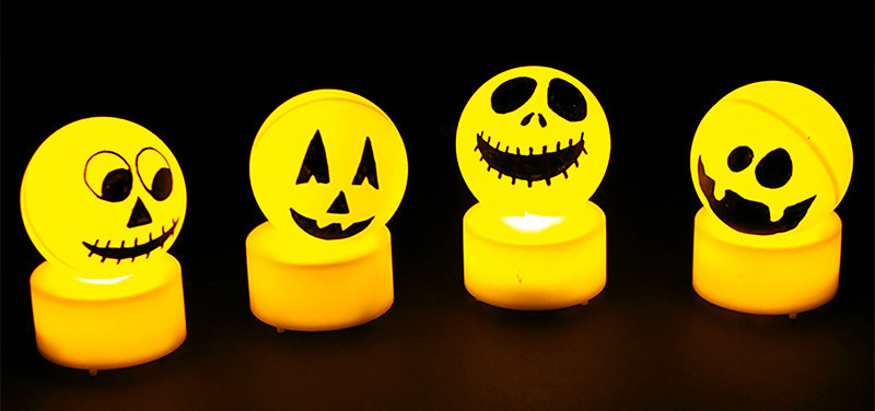 Lampions fantômes d'Halloween