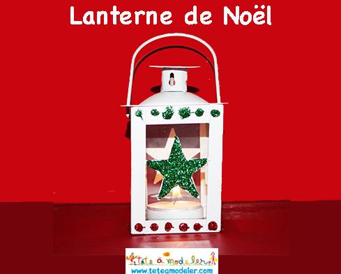 La lanterne de Noël de la Box créative
