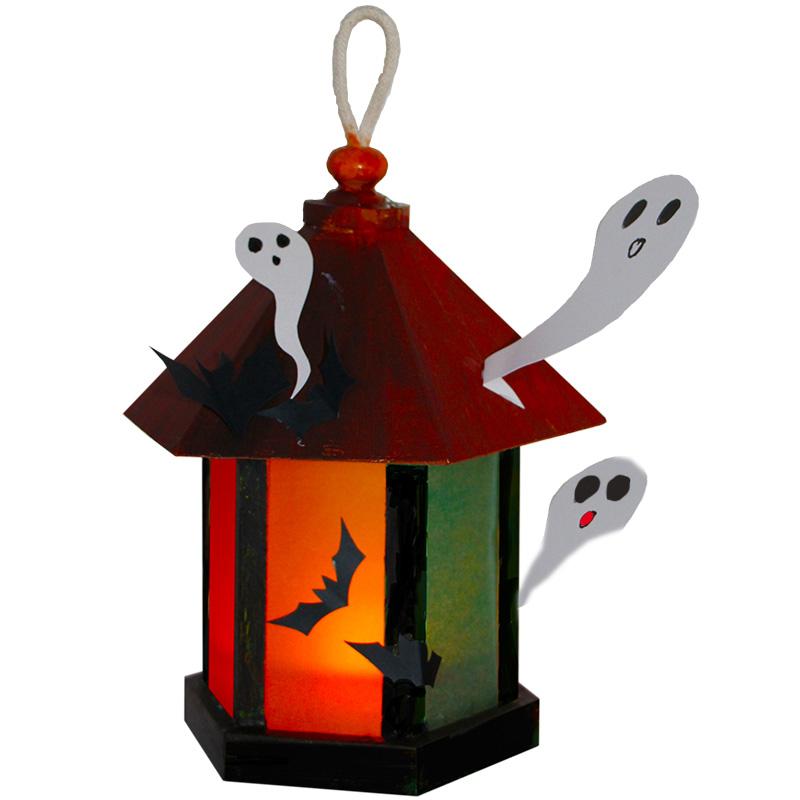 Lanterne aux fantômes d'Halloween