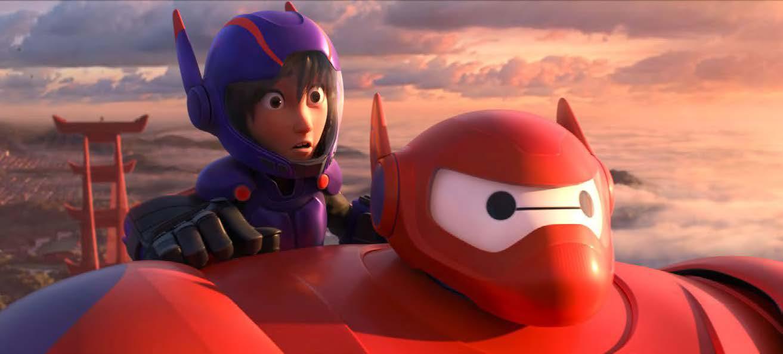 Baymax et Hiro - Les nouveaux héros