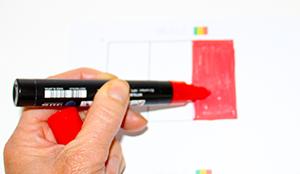 Colorier le drapeau du Mali
