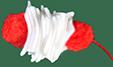 ajouter un pompon rouge