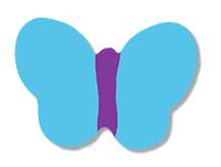Dessiner le corps des papillons