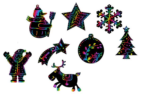 Décorer les Magnets de Noël