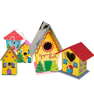 Petites maisons de Noël - village de Noël